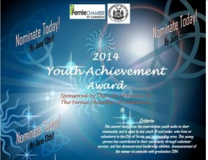 youth achievement award 2014
