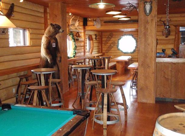 Kodiak Lounge at the Raging Elk