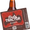 Rusty Tractor with Label