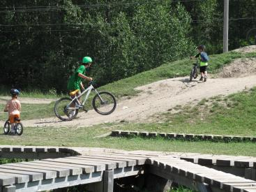 Kids Bike Camp with Fernie Bike Guides