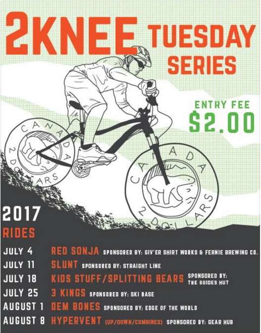 2Knee Tuesday Bike Race
