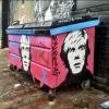 dumpster art