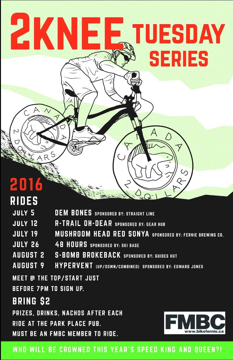 2Knee Tuesday Bike Race
