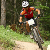 Jesse Mong riding in Canmore 24 Hour
