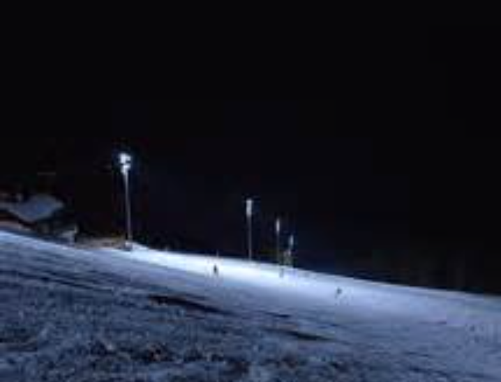Night Skiiing on the Mighty Moose
