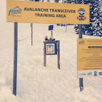 Fernie's Avalanche Transceiver Training Area