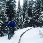 Snowbiking Fernie