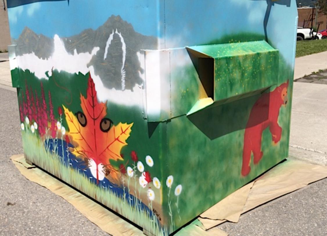 Dumpster Art Project