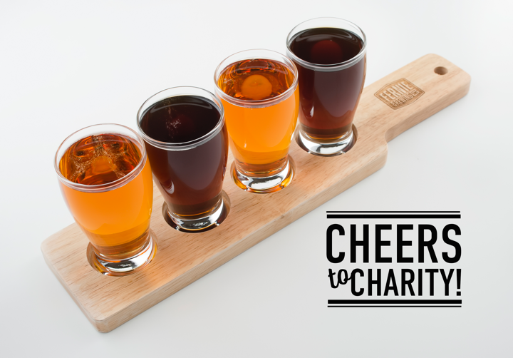 Cheers to Charity
