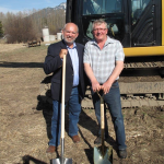 MLA Bill Bennett and Regional A Director Mike Sosnowski