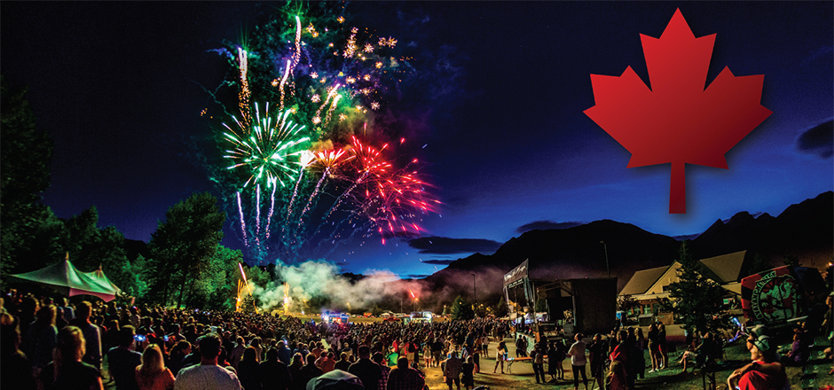 Fernie's Canada Day Celebrations