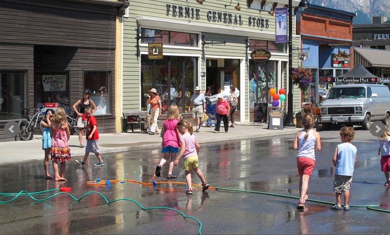 Fernie Downtown Summer Social
