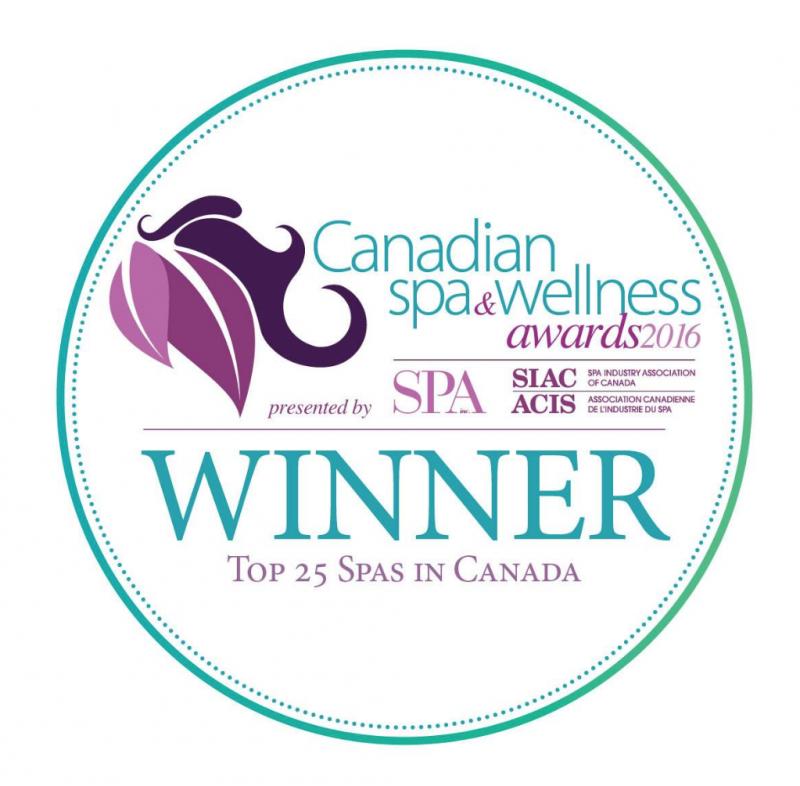 901 CAnadioan Spa & welness award