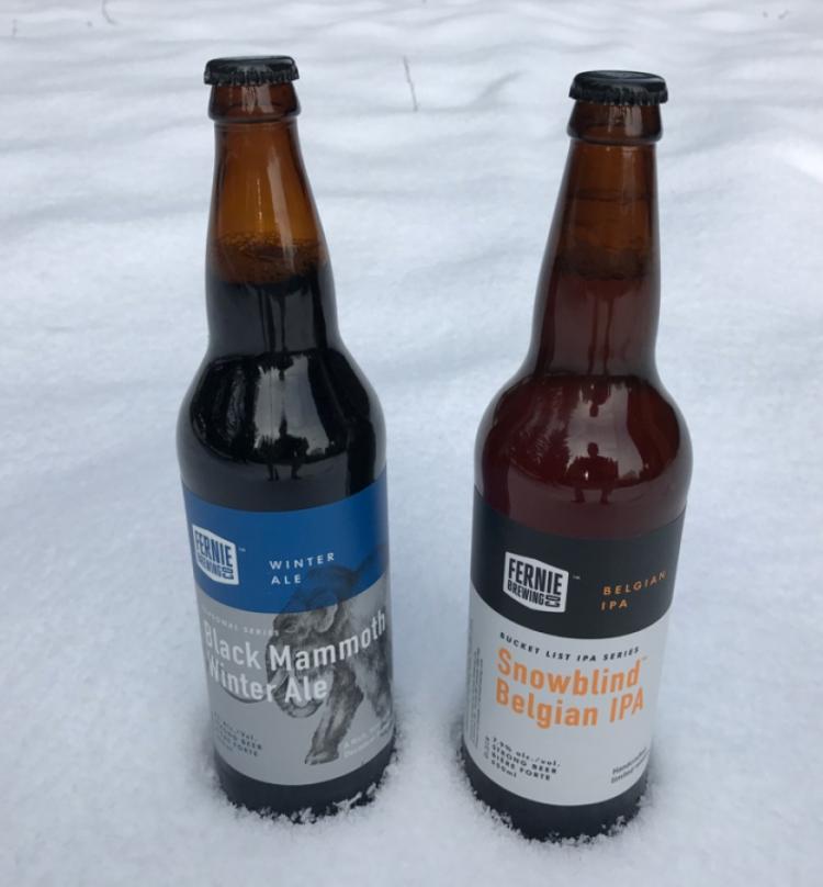 FErnie brewings winter treats