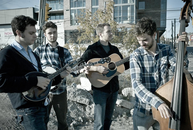 Slocan Ramblers in concert