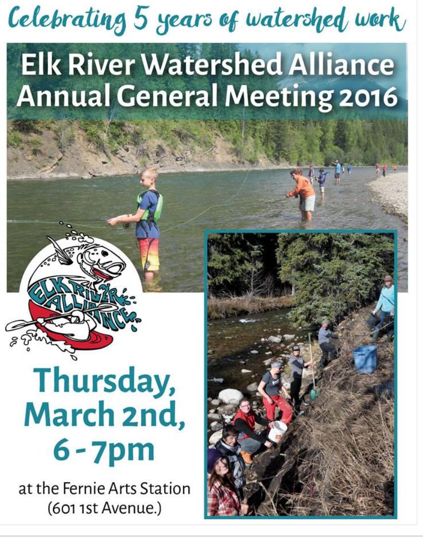 Elk River Alliance AGM