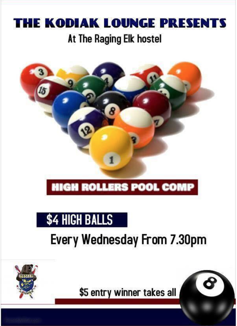 High Rollers Pool Comp