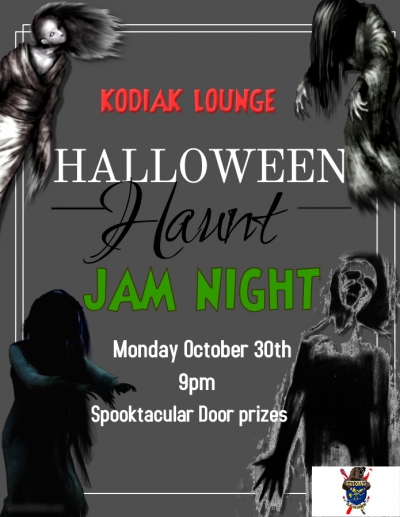 Halloween Howler Jam night