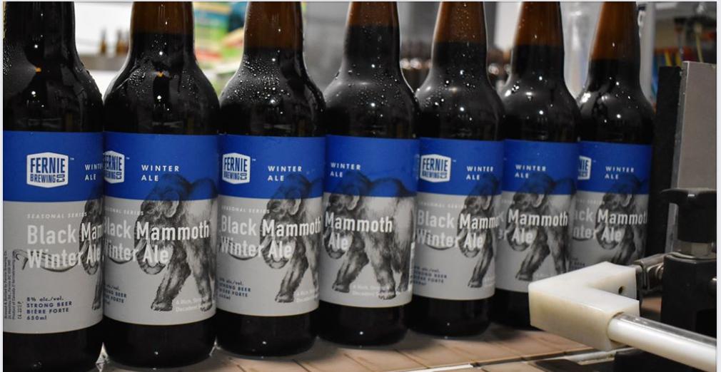 Black Mammoth Winter Ale launch