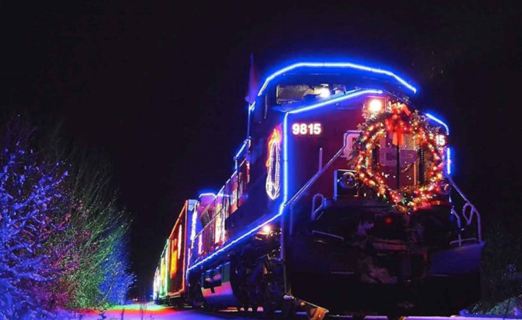 Holiday Train in Fernie