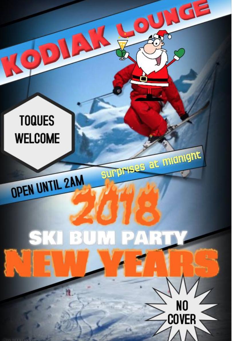 Ski Bum Party