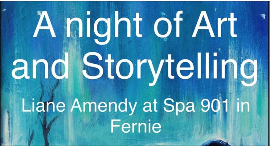 A Night of Art & Storytelling at Spa 901