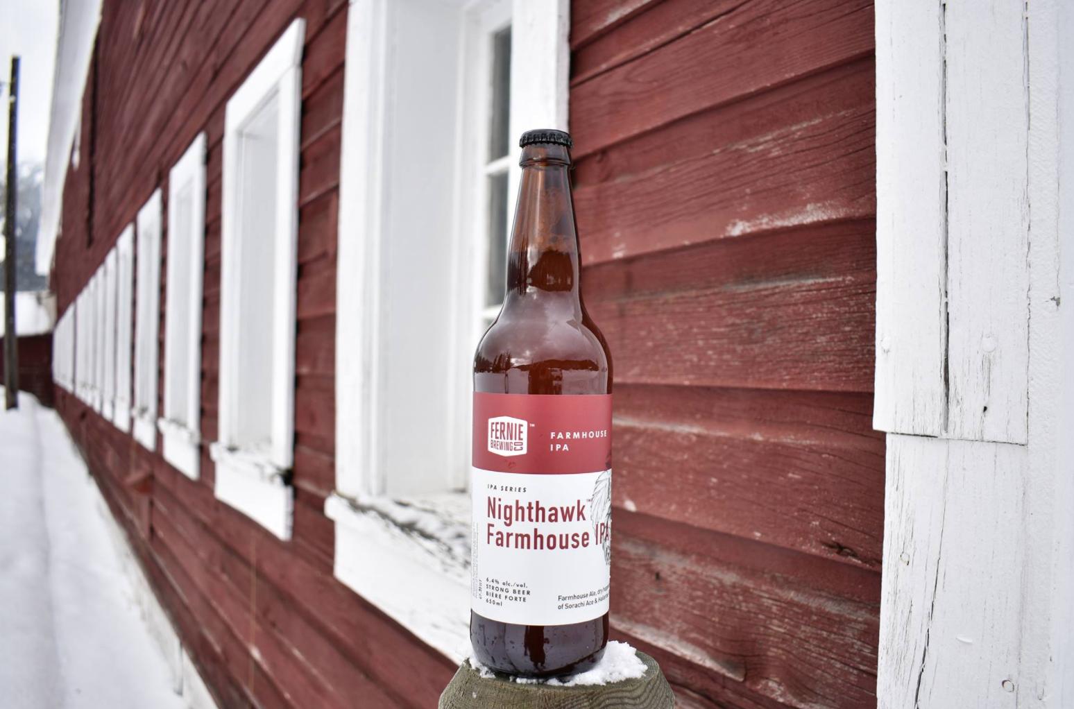 Nighthawk Farmhouse IPA Launch
