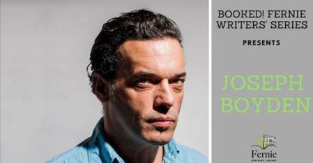 Booked! Joseph Boyden