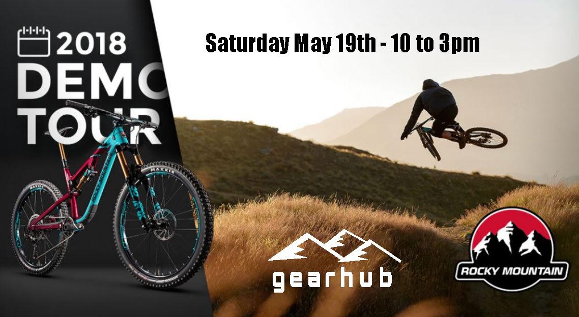 Rocky Mountain Bikes Demo Day