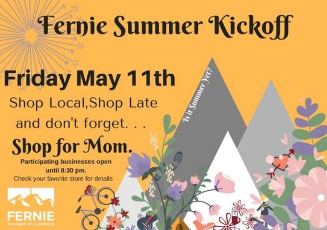 Summer Kickoff Shop Local and Shop Late