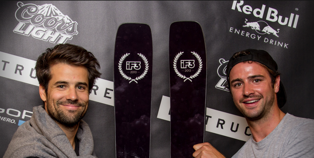 Co-Director/Athlete, JP Auclair, along with athlete Callum Pettit accepted the awards on the Sherpas behalf