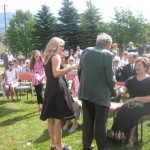 Fernie Diamond Jubilee Commemorative Medal presentation