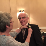 Dr. Nally's retirement party