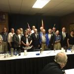 Fernie Legion Veterans dinner