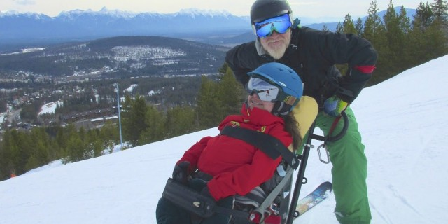 Disabled Skiing Festival