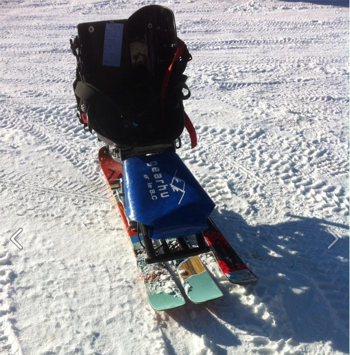 Project Heli sled