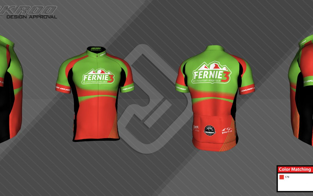 Fernie 3 2016 jersey design finalized