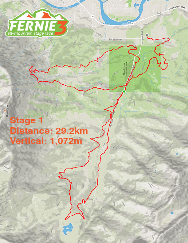 Stage 1 map