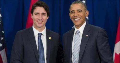 Trudeau & Obama