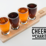 Cheers to Charity goes for Gold