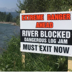Hazard On Elk River