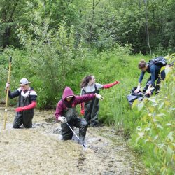 Students Tackle Plastic and Waste at Maiden Lake
