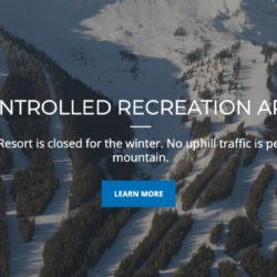 Fernie Alpine Resort is Closed to Uphill Traffic
