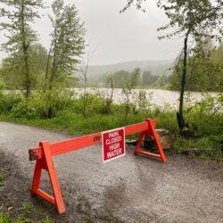 Heavy Rainfall in the Elk Valley
