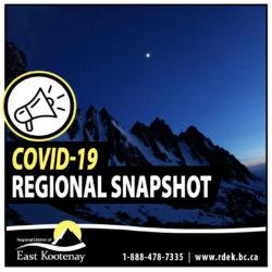 RDEK Covid-19 Regional Snapshot