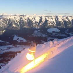Fernie Alpine Resort O'bellx Avalanche System is Operating