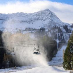 Fernie Alpine Resort is looking white