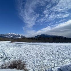 Elk River ice is dangerous