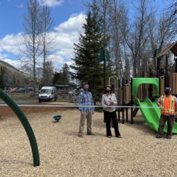 Sparling East Playground Opens