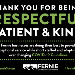 Campaign Supports Fernie's frontline workers